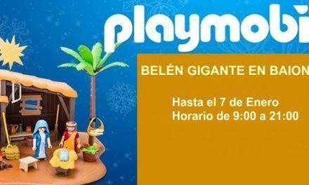 Regresa el Belén Playmobil a Baiona