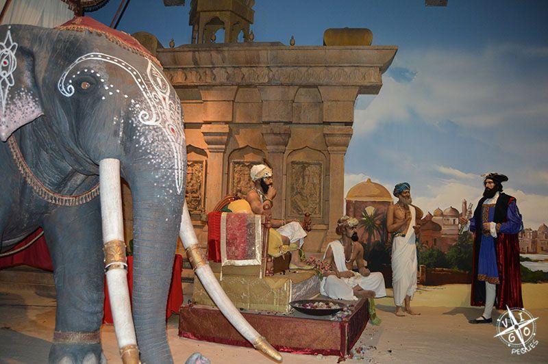 Worl of Discoveries, escena de la India