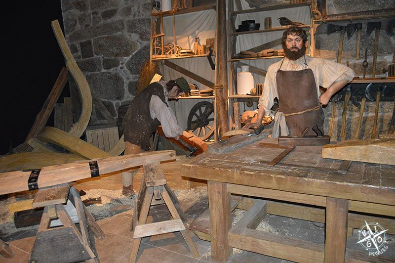 Worl of Discoveries, fabrica de barcos