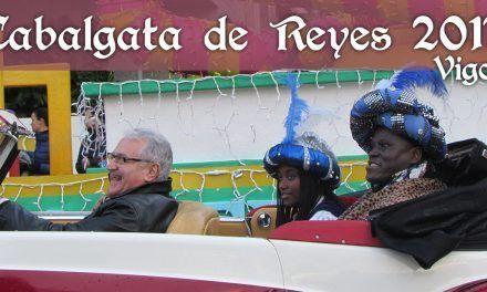Cabalgata de Reyes en Vigo 2017