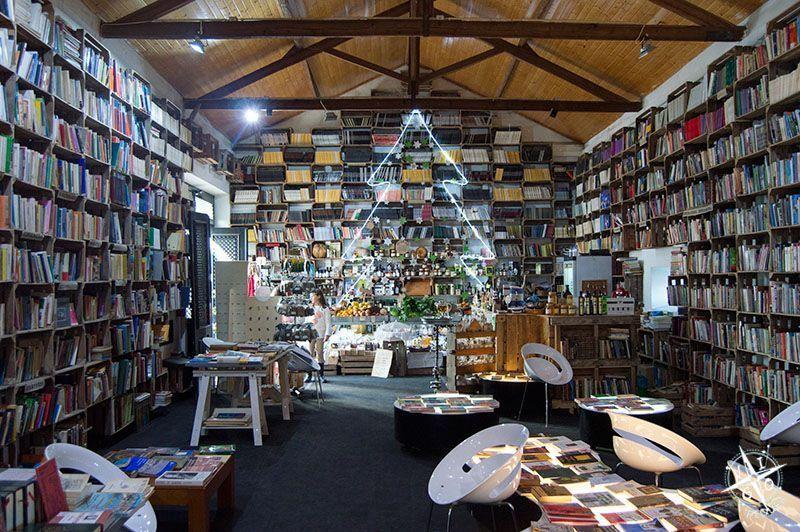 Antiguo mercado reconvertido en libreria