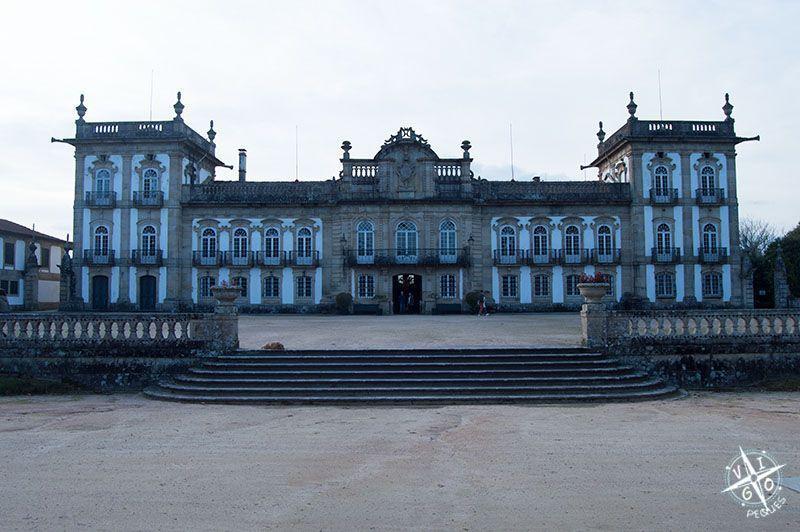 El palacio da Brejoeira y su cafetería vintage
