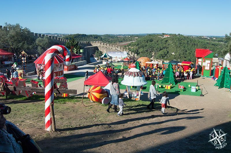 Vista general del parque temático