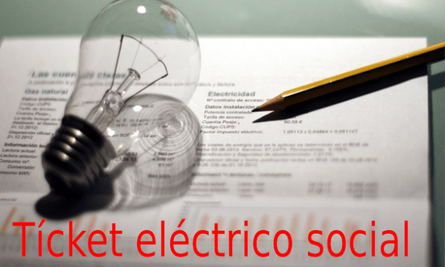 Ticket eléctrico social