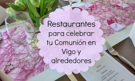 20 Restaurantes para celebrar tu Comunión en Vigo y alrededores