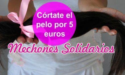 Mechones solidarios: Cortes de pelo a 5 euros por una buena causa