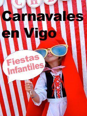 Fiestas de carnaval para niños en Vigo