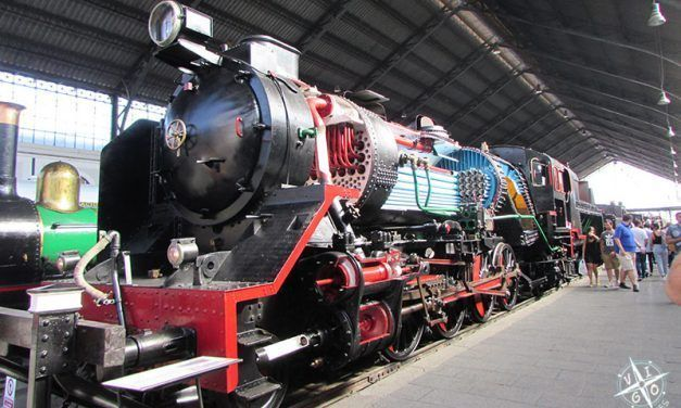 Museo del Ferrocarril: con niños al tren!