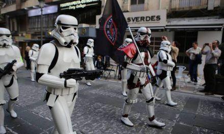 La Legion 501 en la milla solidaria Fanconi
