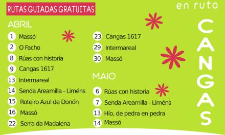 Primavera en ruta: 16 visitas gratuitas por Cangas