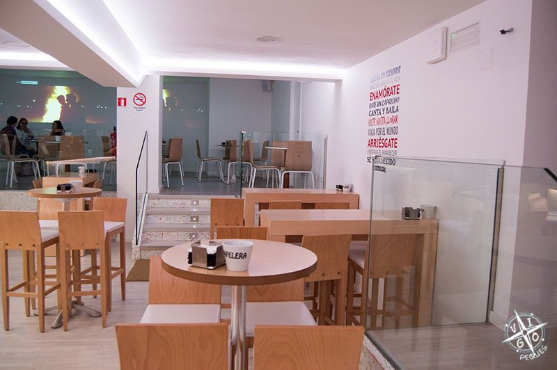 Cafetería Central Park de Bayona