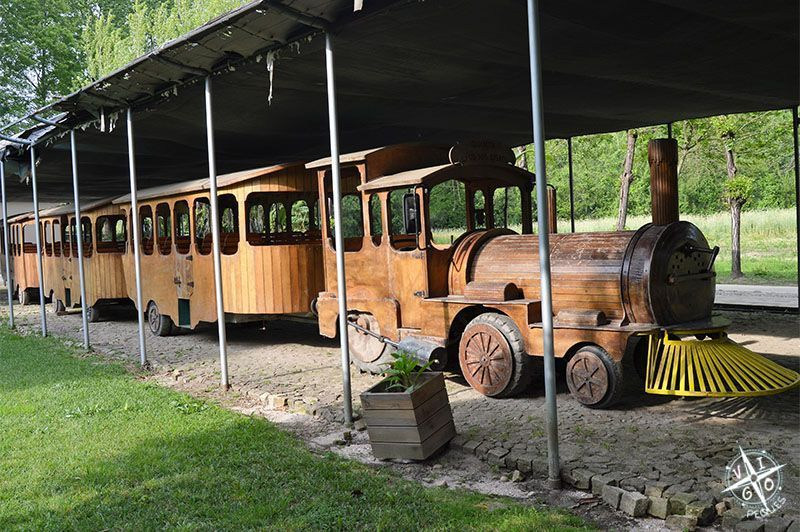 Tren que hace un recorrido por toda la zona del Lago.