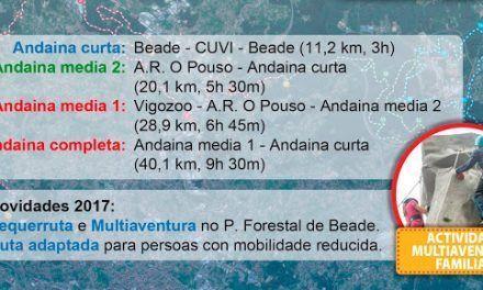 Montes de Vigo: Andaina y actividades multiaventura