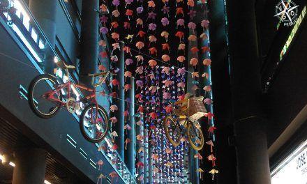 Exposición de bicicletas antiguas