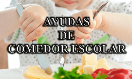 Ayudas comedor y material escolar del Concello de Vigo 2020-2021