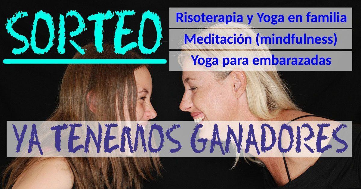 Sorteo taller de yoga, meditación o risoterapia