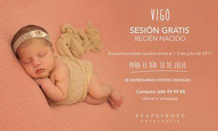 Sesión de fotos gratis para recién nacidos