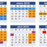 Calendario escolar Galicia 2017-2018