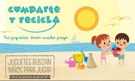 Comparte y recicla: recogida de juguetes verano 2017