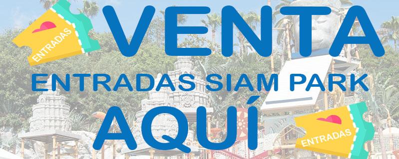 Venta de entradas para Siam Park