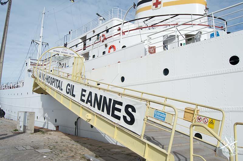 Visitamos el Barco Hospital Gil Eannes con niños