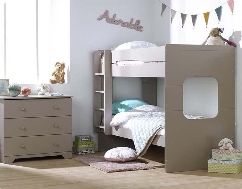 Litera de tres camas affordable litera de tres camas with for Literas de tres camas