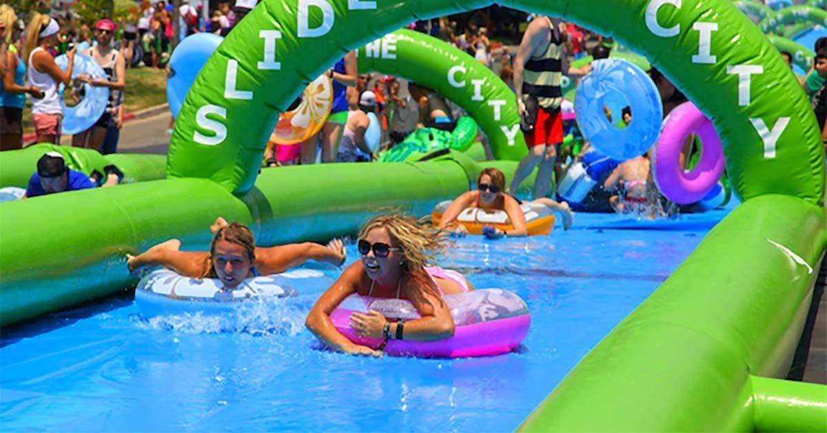 El tobogán acuático en Vigo será gratis