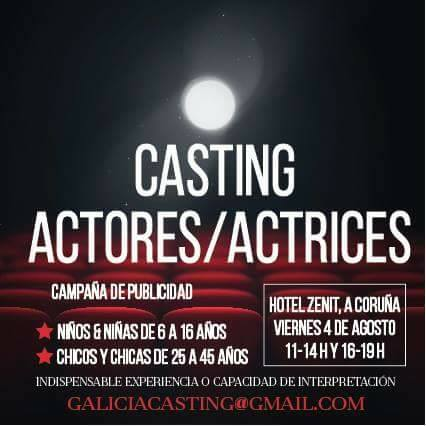 Casting infantil y juvenil para actores