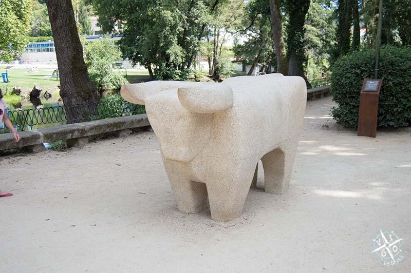 Monumento al Buey en Allariz