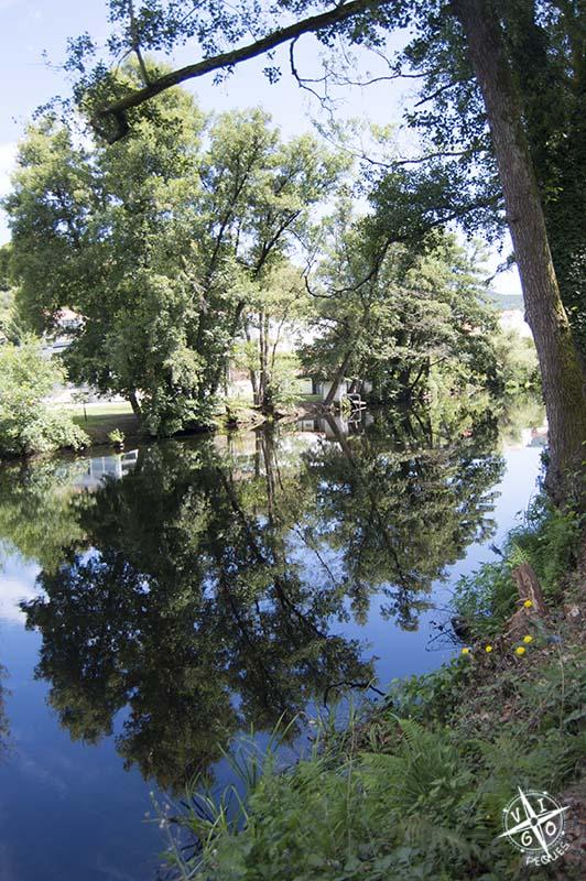 Río Arnoia a su paso por Allariz