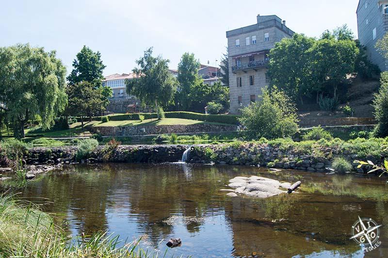 Piscina natural del río Arnoia en Allariz
