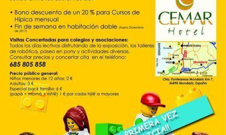 Exposicion Lego en Mondariz Balneario