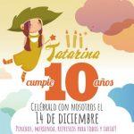Tatarina ocio infantil celebra su décimo aniversario