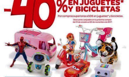 Descuentos del 40% en juguetes!
