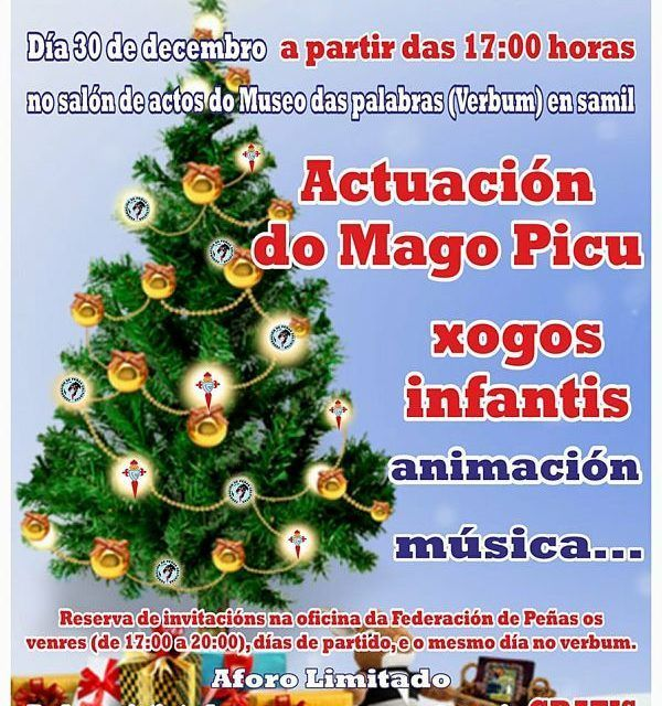 Fiesta Infantil de Navidad gratuita