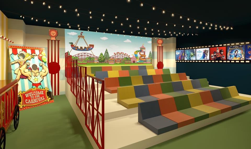 El Hospital Alvaro Cunqueiro tendrá una sala de cine infantil