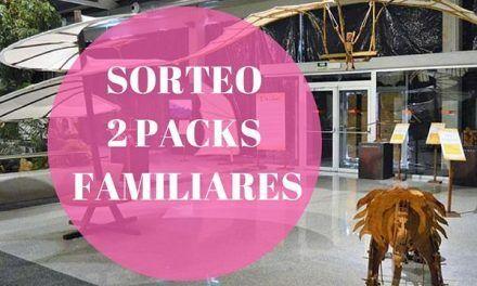SORTEO: 2 Packs familiares  para la Exposición Da Vinci