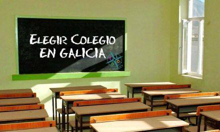 Se abre el plazo de admisión de los colegios en Galicia