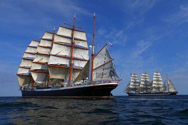 Visita el buque escuela Kruzenshtern este fin de semana