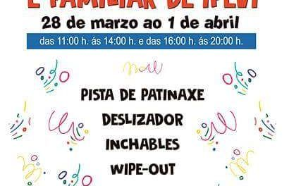 Parque infantil en IFEVI esta Semana Santa