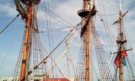 La Fragata Shtandart en Vigo