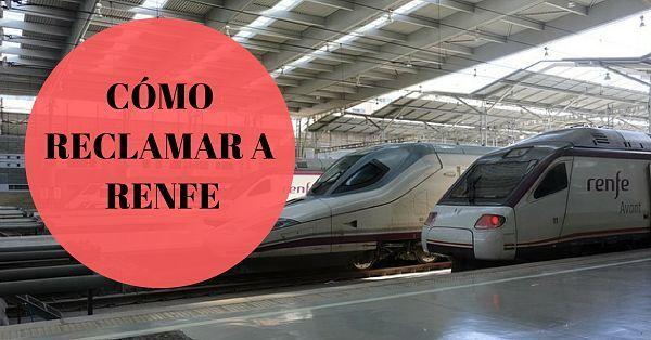 Cómo reclamar una indemnización a RENFE