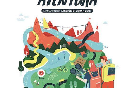Campamentos de verano Xunta de Galicia 2018