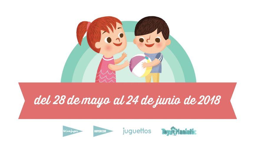 Comparte y recicla: recogida de juguetes verano 2018
