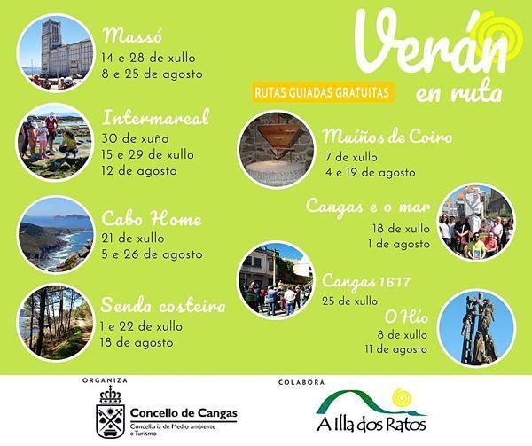 Verán en ruta: 22 visitas guiadas gratuitas por Cangas