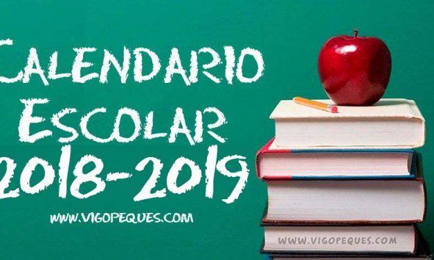 Calendario Escolar Galicia 2018-19