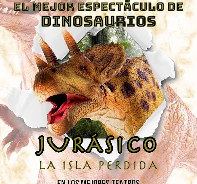 Jurásico La Isla Perdida: el mayor espectáculo teatral de dinosaurios en Castrelos
