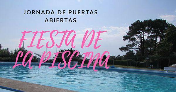 Fiesta en la piscina: Jornada de puertas Abiertas!
