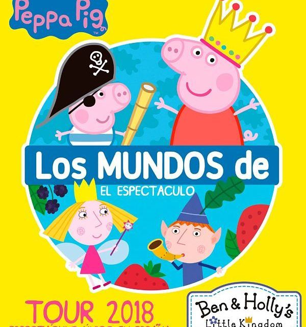 El Musical de Peppa Pig y Rock en familia completan la programación infantil en Castrelos