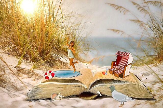 Os libros ao sol: Biblioteca de playa y actividades en Samil